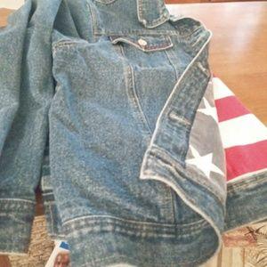 Vintage Lined Denim Jean Jacket